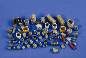 Verlinden Workshop & Warehouse Accessories Plastic Model Detailing Accessory 1/35 Scale #2541