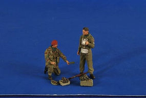 Verlinden British Red Devil Paratrooper & RAF Glider Pilot Resin Model Figure Kit 1/35 Scale #2593