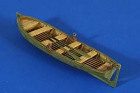 Verlinden Large Row Boat with Oars Resin Model Military Ship Kit 1/35 Scale #2609