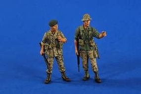 Verlinden Green Beret Vietnam (2) Resin Model Military Figure Kit 1/35 Scale #2611