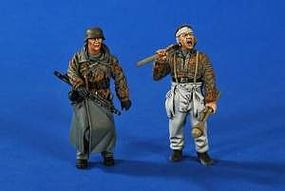 Verlinden Panzerknackers Soldiers (2) Resin Model Military Figure Kit 1/35 Scale #2637