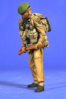 Verlinden 120mm WWII British Commando Resin Model Military Figure Kit 1/16 Scale #2703