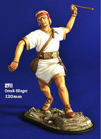Verlinden 120mm Greek Slinger Resin Model Military Figure Kit 1/16 Scale #2711