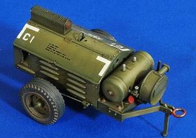 Verlinden Airbase Compressor Plastic Model Vehicle Accessory 1/32 Scale #2756