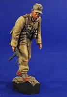 Verlinden Afrika Korps Officer Plastic Model Military Diorama 1/16 Scale #2806