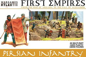 Wargames 28mm First Empires Persian Infantry w/Weapons (40)