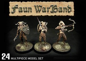Wargames 28mm Fauns Half Beast/Man w/Weapons (24 w/2 Optional Centaurs)