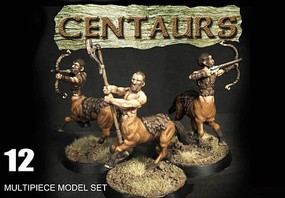 Wargames 28mm Centaurs w/Weapons (12 w/Optional Parts)