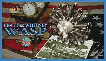 1/8 Pratt/Whitney Wasp R-1340 Radial Engine