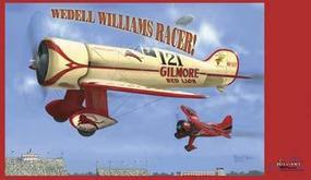Williams-Brothers Wedell Williams 121 Gilmore Red Lion Racer Plastic Model Airplane Kit 1/32 #32521