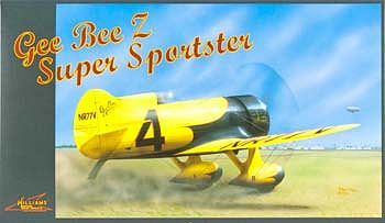 Williams Brothers Gee Bee Z Super Sportster -- Plastic Model Airplane Kit -- 1/32 Scale -- #32526