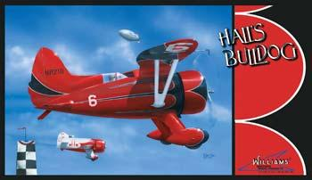 Williams Brothers Hall's Bulldog -- Plastic Model Airplane Kit -- 1/32 Scale -- #32532