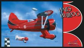 Williams-Brothers Halls Bulldog Plastic Model Airplane Kit 1/32 Scale #32532