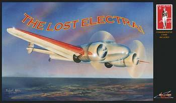 Williams Brothers The Lost Electra -- Plastic Model Airplane Kit -- 1/53 Scale -- #53598
