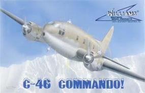 Williams-Brothers C-46 Commando Plastic Model Airplane Kit 1/72 Scale #72546