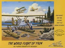 Williams-Brothers The World Flight of 1924 BiPlane Cruisers Plastic Model Airplane Kit 1/72 Scale #72624