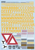 Warbird B17 ID Sq. & ID Lettering, Numbers, Bomb Plastic Model Aircraft Decals 1/72 Scale #172006