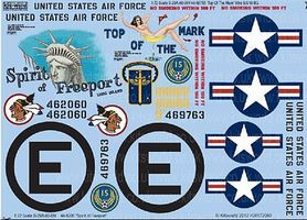 Warbird B29 Top of the Mark, Spirit of Freeport Plastic Model Aircraft Decal 1/72 Scale #172069