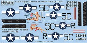 Warbird 1/72 A26B Maggies Drawers, Dinah Might