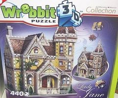 Wrebbit Lady Jane Victorian House (440pcs) 3D Jigsaw Puzzle #1004