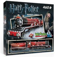Wrebbit Wrebbit 3D- Harry Potter Hogwarts Express Foam Puzzle (460pcs)