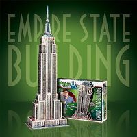 Wrebbit Empire State Building, USA (975pcs) 3D Jigsaw Puzzle #2007