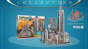 Wrebbit New York Collection- Midtown West Foam Puzzle (900pcs) 3D Jigsaw Puzzle #2010