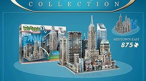 Wrebbit New York Collection- Midtown East Foam Puzzle (875pcs) 3D Jigsaw Puzzle #2011