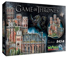 Wrebbit Wrebbit 3D- Game of Thrones The Red Keep Castle Foam Puzzle (845pcs)