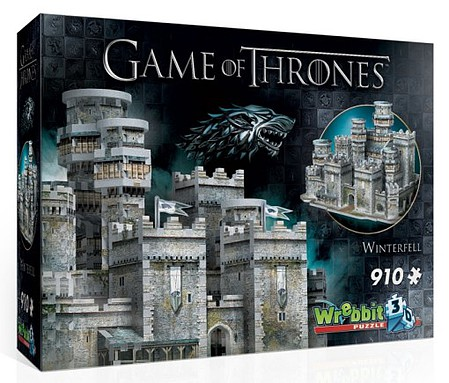 Wrebbit Wrebbit 3D- Game of Thrones Winterfell Castle Foam Puzzle (910pcs)