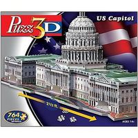 Wrebbit US Capital, Washington DC (764pcs) 3D Jigsaw Puzzle #22807