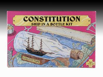 Woodkrafter Kits Ship in Bottle Constitution Kit