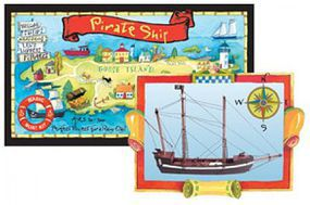 Woodkrafter 9 Pirate Ship Kit
