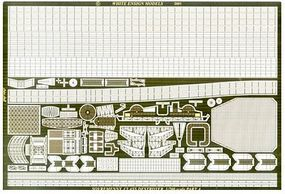 White-Ensign Sovremenny Detail Set for TSM Plastic Model Ship Accessory 1/200 Scale #2001