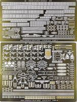 White-Ensign Admiral Graf Spee Pocket Detail Set for ACY & TSM Plastic Model Ship Accessor 1/350 #35126