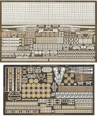 White-Ensign IJN Yamato/Musashi Detail Set for TAM Plastic Model Ship Accessory 1/350 Scale #3528