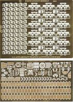 White-Ensign USS Essex Weapons & Antennae for TSM Plastic Model Ship Accessory 1/350 Scale #3536
