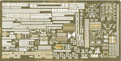 White Ensign Models Ticonderoga Class Cruiser Detail Set for TSM -- Plastic Model Ship Accessory -- 1/350 -- #3552