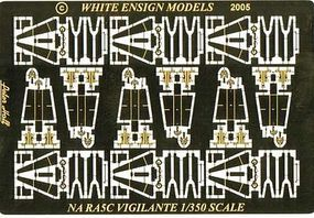 White-Ensign NA RA5C Vigilante Detail Set Plastic Model Aircraft Accessory 1/350 #3570