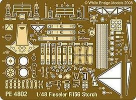 White-Ensign Fiesler Fi156 Storch Detail Set for TAM Plastic Model Aircraft Accessory 1/48 Scale #4802