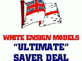 White-Ensign Avro Lancaster Ultimate Detail Set Plastic Model Ship Accessory 1/72 #7230
