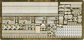 White-Ensign USS N. Carolina & Washington Detail Set for TSM Plastic Model Ship Accessory 1/700 #774