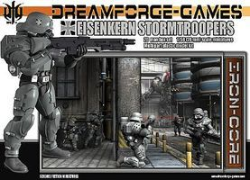 Wargames Eisenkern Stormtroopers Plastic Model Figure Kit 1/56 Scale #in1