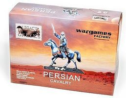 Wargames Persian Cavalry Plastic Model Figure Kit 1/56 Scale #lg3