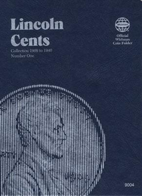 Whitman Publishing Folder Lincoln #1 1909-1940 -- Coin Collecting Book and Supply -- #0307090043