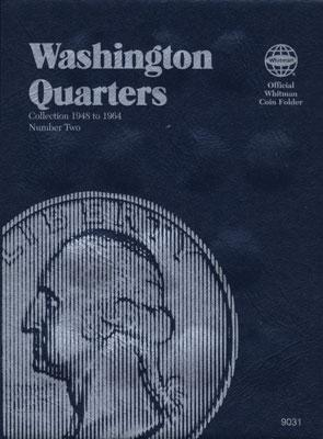 Whitman Washington Quarters 1948-1964 Coin Folder Coin Collecting Book and Supply #0307090310