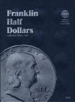 Whitman Franklin Half Dollars 1948-1963 Coin Folder Coin Collecting Book and Supply #0307090329