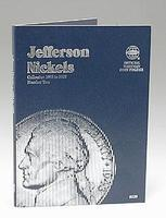 Whitman Jefferson Nickels 1962-1995 Coin Folder Coin Collecting Book and Supply #0307090396
