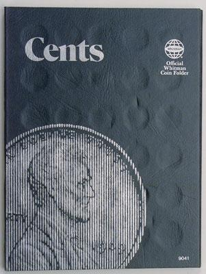 Whitman Publishing Folder Cent Plain -- Coin Collecting Book and Supply -- #0307090418