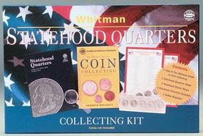 Whitman Statehood Quarters Collecting Kit (D) Coin Collecting Book and Supply #0307093905